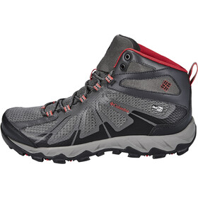 Columbia Peakfreak XCRSN II XCEL Mid Outdry Chaussures Homme, city grey / bright red